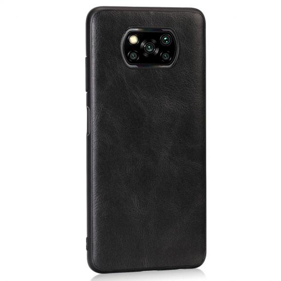 Coque Xiaomi Poco X3 NFC Milena effet cuir