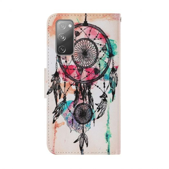 Housse Samsung Galaxy S20 FE Attrape rêves aquarelle