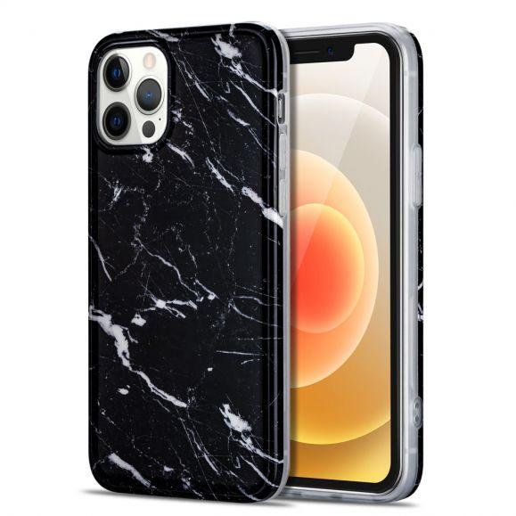 Coque iPhone 12 / 12 Pro Marbre