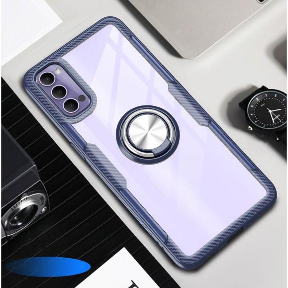 Coque Oppo Reno 4 Pro 5G Transparente Finger