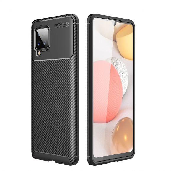 Coque Samsung Galaxy A42 5G effet fibre de carbone