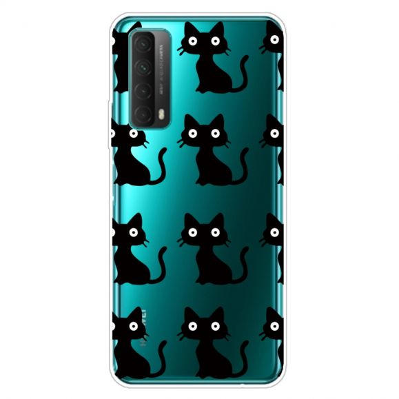Coque Huawei P Smart 2021 chats noirs