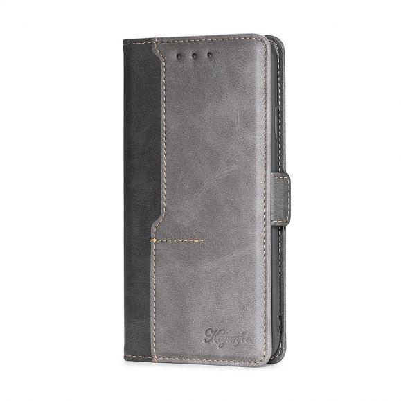Housse OnePlus Nord N100 Keyunfei simili cuir bicolore