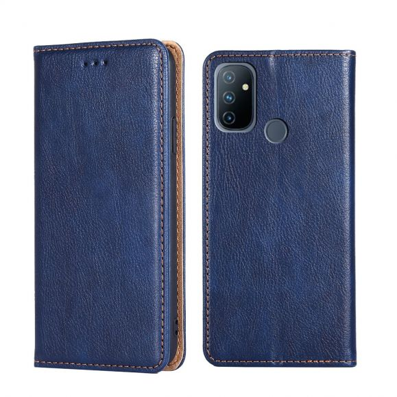 Flip cover OnePlus Nord N100 PURE simili cuir