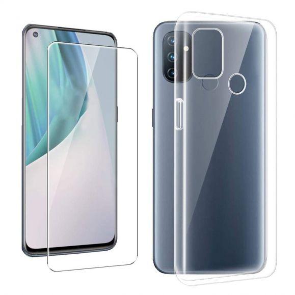 Coque OnePlus Nord N100 + Protection d'écran en verre trempé