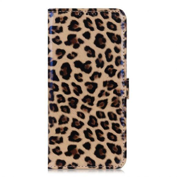 Housse Samsung Galaxy A42 5G Simili Cuir Style Léopard