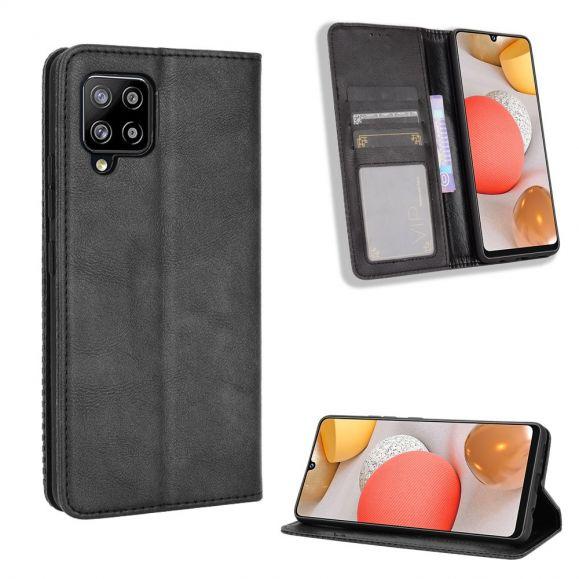 Housse Samsung Galaxy A42 5G Le Cirénius Style Cuir