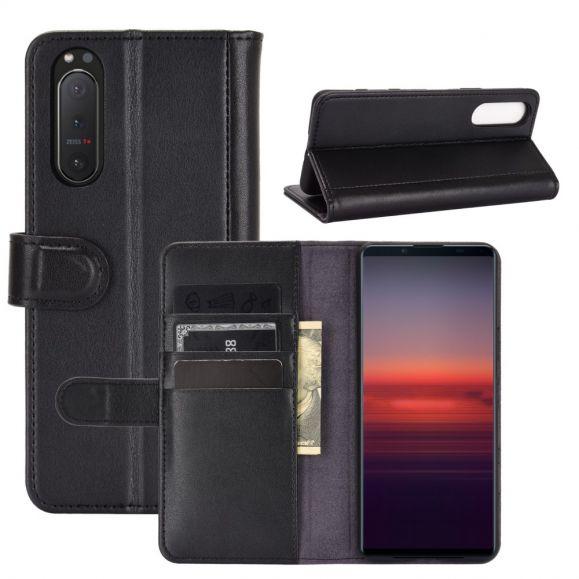 Housse Sony Xperia 5 II Cuir Premium