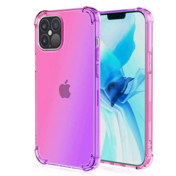 Coque iPhone 12 / 12 Pro Transparente Bicolore
