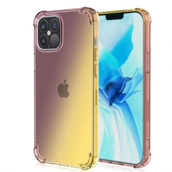Coque iPhone 12 / 12 Pro Transparente Bicolore