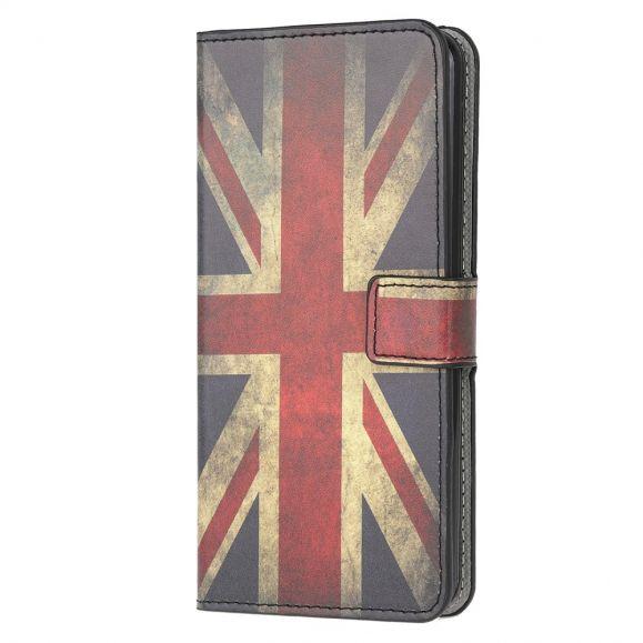 Housse Samsung Galaxy A42 5G drapeau anglais vintage