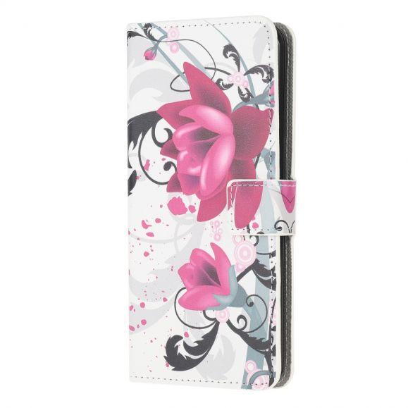 Housse Samsung Galaxy A42 5G Fleur de Lotus
