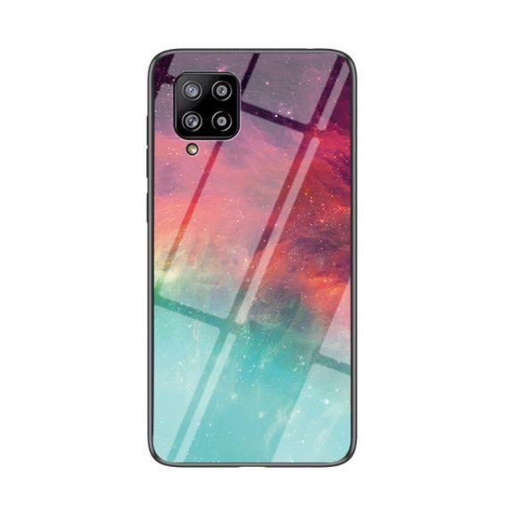 Coque Samsung Galaxy A42 5G Nébuleuse dos en verre
