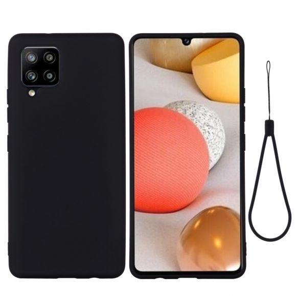 Coque Samsung Galaxy A42 5G silicone liquide