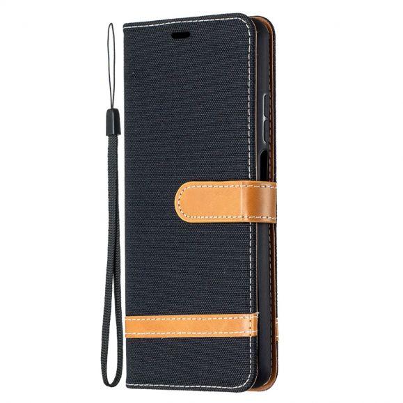 Housse Xiaomi Mi 10T Lite revêtement tissu