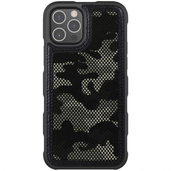 Coque iPhone 12 / 12 Pro Camouflage Maillé