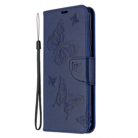 Housse Samsung Galaxy M11 Papillons fonction support