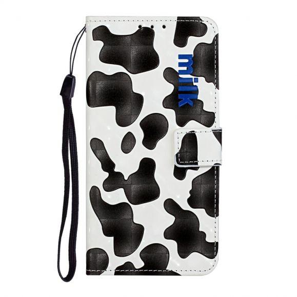 Housse iPhone 11 Cow style + Cordon Bandoulière