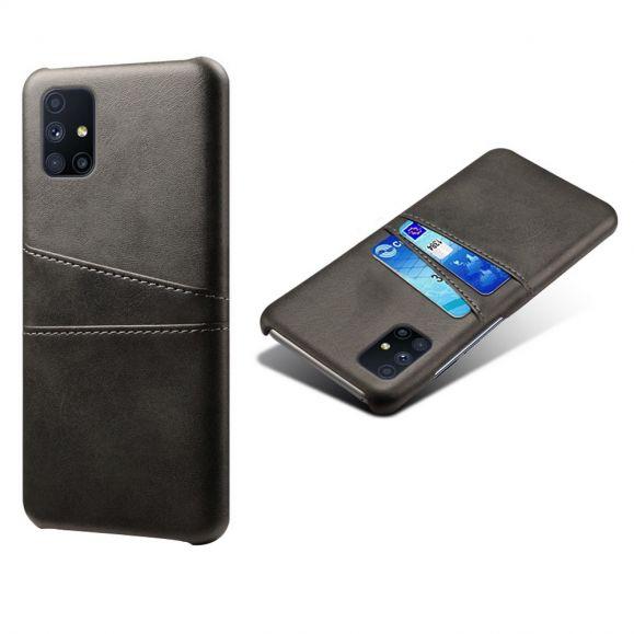 Coque Samsung Galaxy M51 Mélodie Effet Cuir Porte Cartes