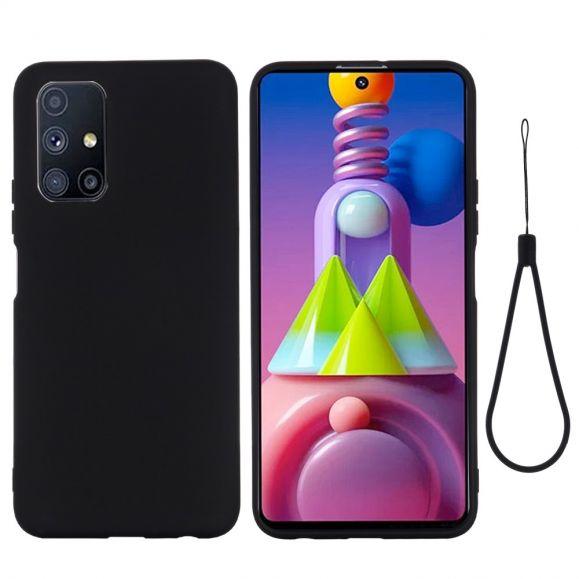 Coque Samsung Galaxy M51 Puro silicone liquide