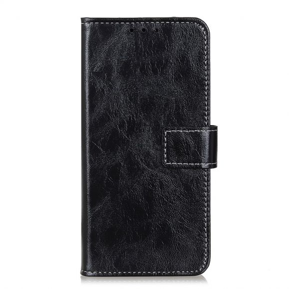 Housse OnePlus Nord N10 effet cuir luxueux coutures