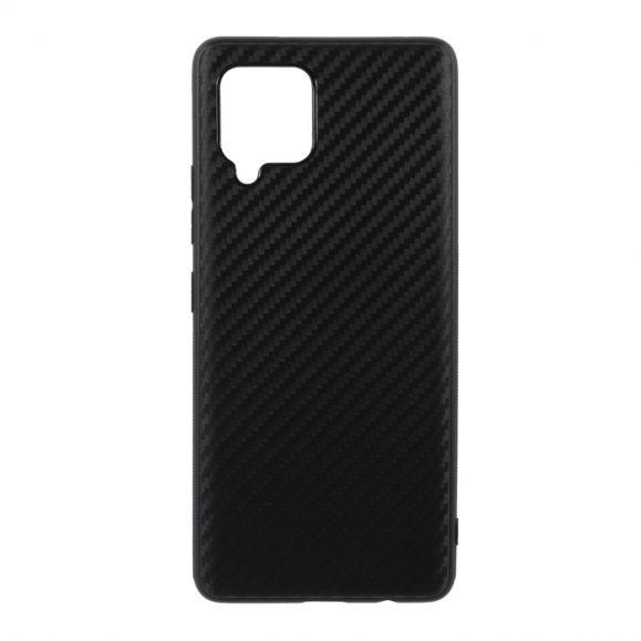 Coque Samsung Galaxy A42 5G revêtement fibre de carbone