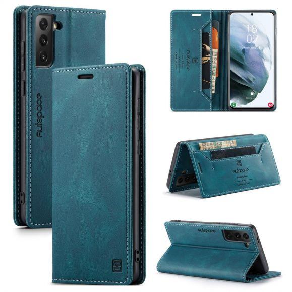 Housse Samsung Galaxy S21 AUTSPACE Simili Cuir