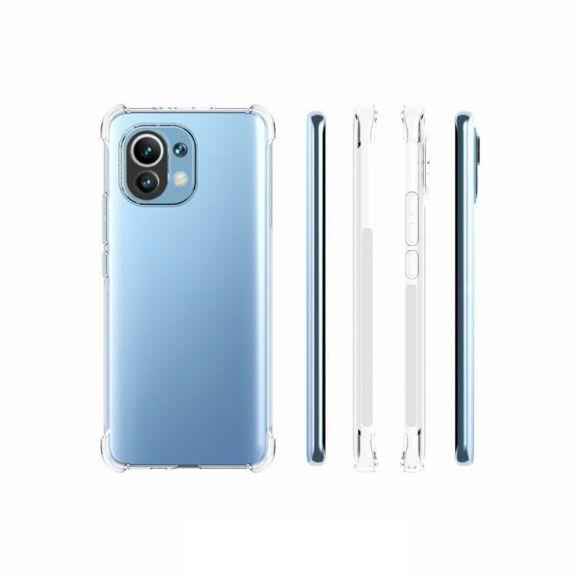 Coque Xiaomi Mi 11 transparente angles renforcés
