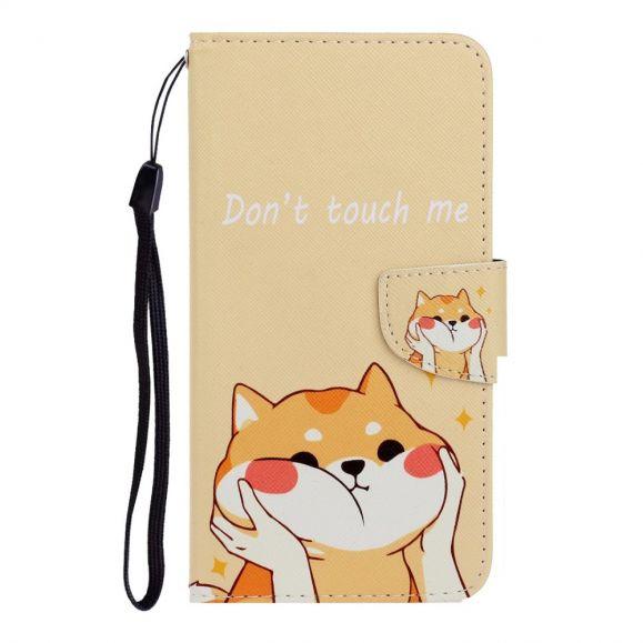 Housse Xiaomi Mi 10T Lite Ne me touche pas et chat