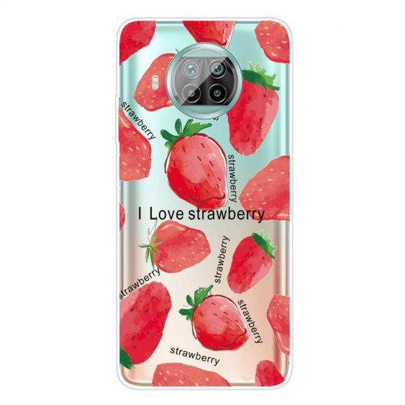 Coque Xiaomi Mi 10T Lite Strawberry