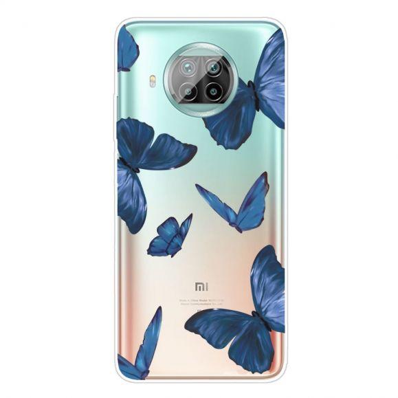 Coque Xiaomi Mi 10T Lite Papillons Bleus