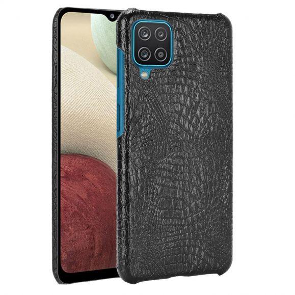 Coque Samsung Galaxy A12 effet peau de croco