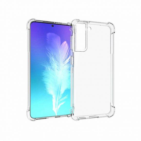 Coque Samsung Galaxy S21 transparente angles renforcés