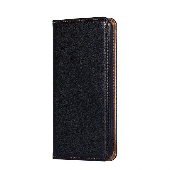 Flip cover Samsung Galaxy S21 PURE simili cuir