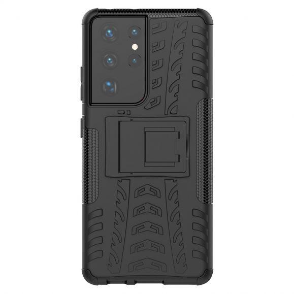 Coque Samsung Galaxy S21 Ultra antidérapante avec support intégré