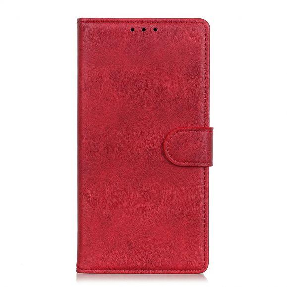 Housse Xiaomi Redmi Note 9T Marius effet cuir mat