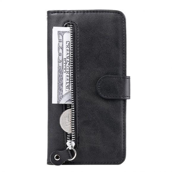 Housse Samsung Galaxy S21 5G Zipper Pocket Fonction Support