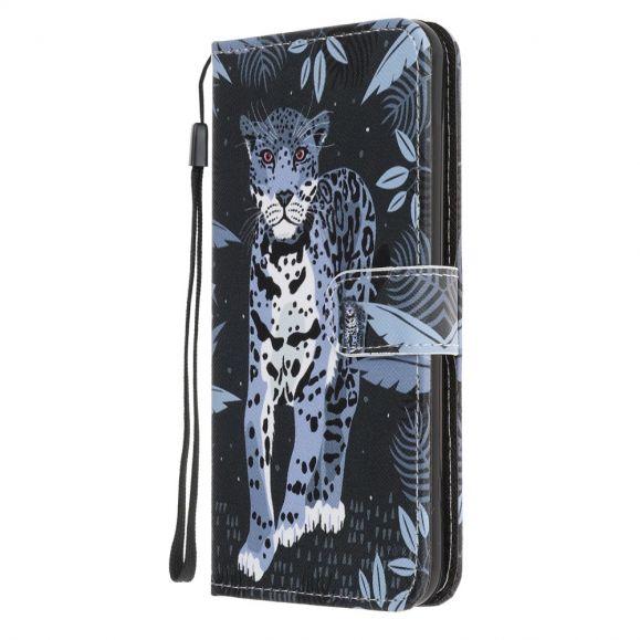 Housse Samsung Galaxy S21 Ultra Jungle Leopard