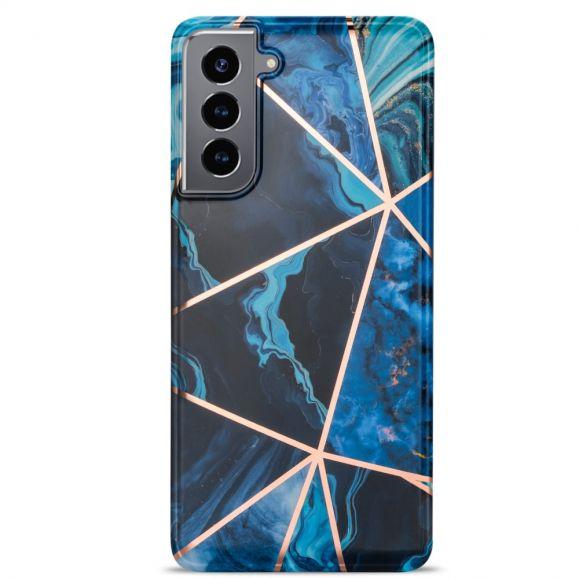 Coque Samsung Galaxy S21 Plus Marbre Géométrie