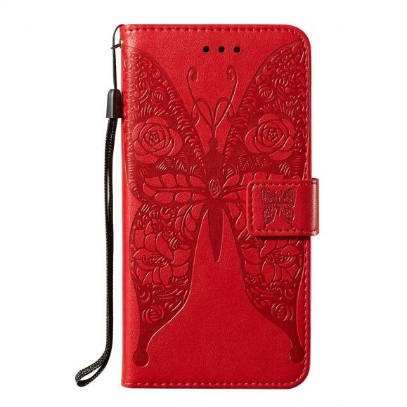 Housse Samsung Galaxy A32 5G papillon relief