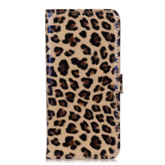 Housse Samsung Galaxy S21 5G Simili Cuir Style Léopard