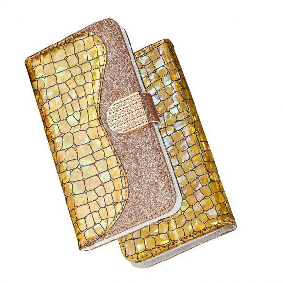 Housse Samsung Galaxy S21 Plus 5G Luxury Effet Croco
