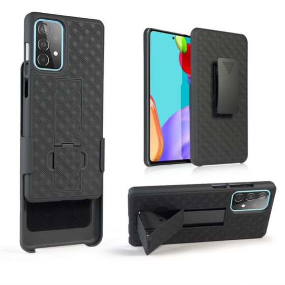 Coque Samsung Galaxy A52 5G / A52 4G intégrale avec clip ceinture