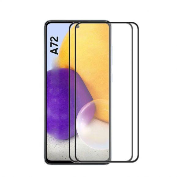 Protections d'écran Samsung Galaxy A72 5G / A72 4G en verre trempé Full Size (2 pièces)