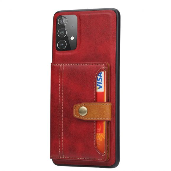 Coque Samsung Galaxy A72 5G / A72 4G effet cuir portefeuille