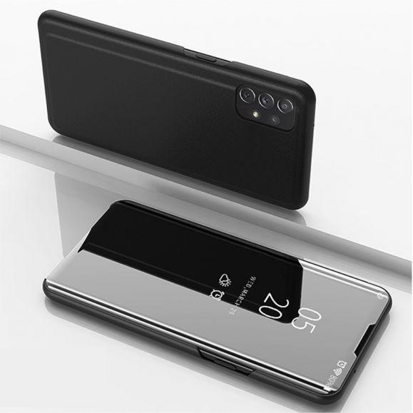 Coque Samsung Galaxy A72 5G / A72 4G avec rabat effet miroir