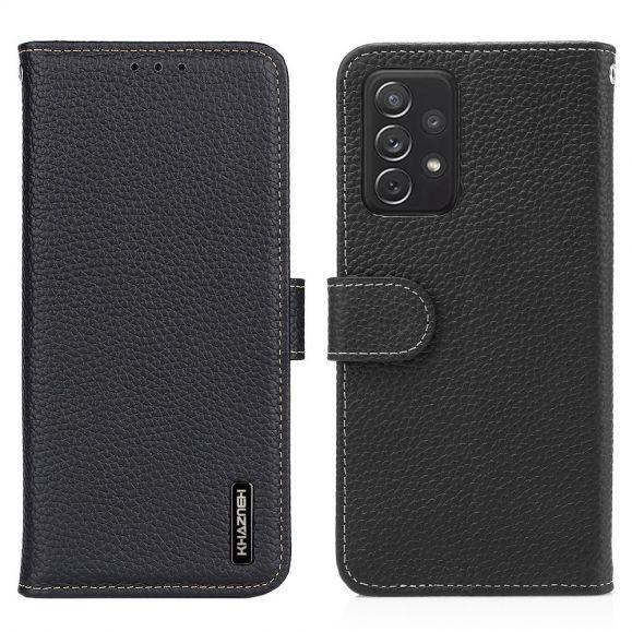Housse Samsung Galaxy A72 4G / A72 5G Cuir KHAZNEH
