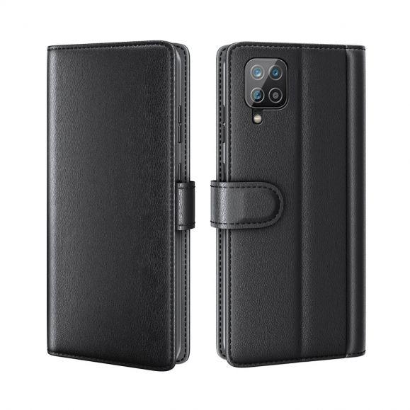 Housse Samsung Galaxy A12 Cuir Premium