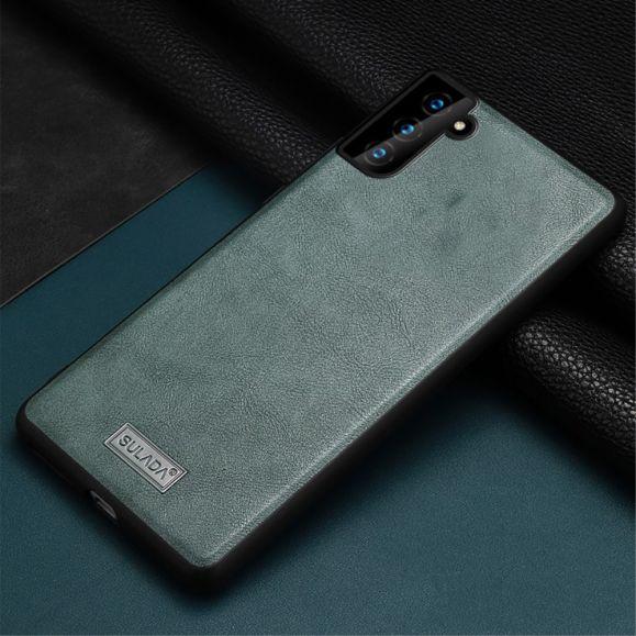 Coque Samsung Galaxy S21 Plus 5G SULADA Effet Cuir
