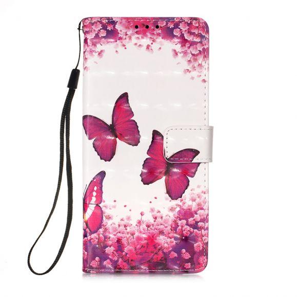 Housse Samsung Galaxy A52 4G / A52 5G papillons romance